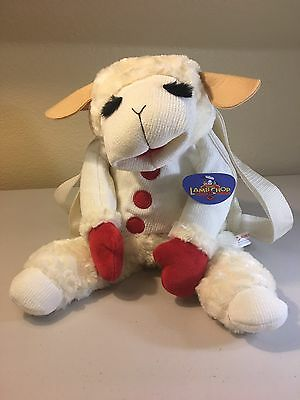Lamb Chop & Friends Plush Backpack Lambchop Sheep (20 inches)  *NEW WITH TAGS*
