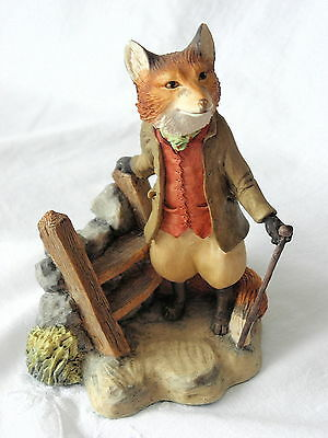 Border Fine Arts ~ Beatrix Potter ~ Foxy Whiskered Gentleman ~ Bp19