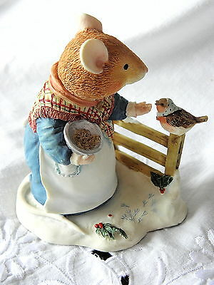 Villeroy & And Boch ~ Foxwood Tales ~  Mrs Mouse ~ Seed Of Kindness ~ Ft19