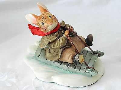 Villeroy & And Boch ~ Foxwood Tales ~ Rue Rabbit ~ Fun In The Snow ~ Ft16