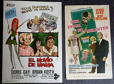 Doris Day Spanish mini posters Do Not Disturb & With Six You Get Eggroll