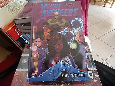 COMICS MARVEL DELUXE PANINI Young Avengers - Style Substance TTBE NEUF