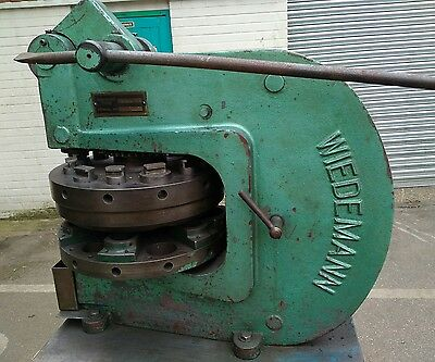 Wiedemann Sheet Metal Turret Punch And Stand