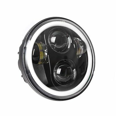 5.75 Headlight Motorcycle Daymaker Led Headlight Halo With Drl For Harley Bs