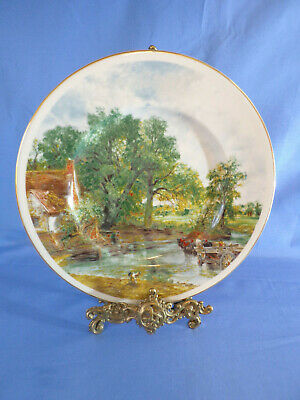 "Collector's Plate Constables ""The Haywain"" Decorated By Fenton China"