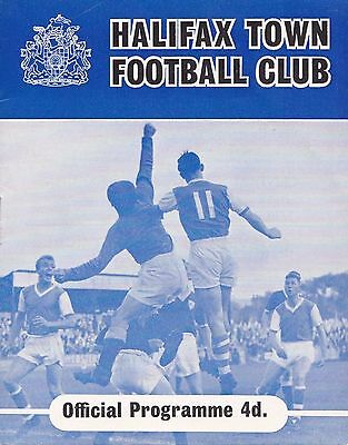 1961/62 HALIFAX TOWN v QUEENS PARK RANGERS QPR - VERY RARE ***POSTPONED***