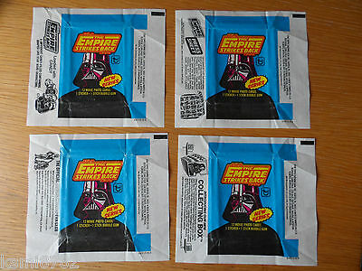 Topps 1980 Star Wars Gum Wrappers The Empire Strikes Back Series 2  All Variants