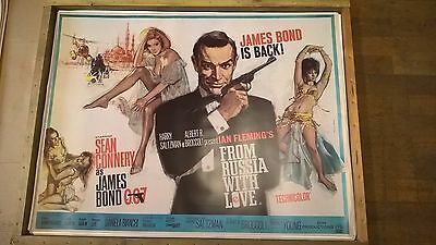 job lot 100 x large james bond 007 from russia with love film movie posters