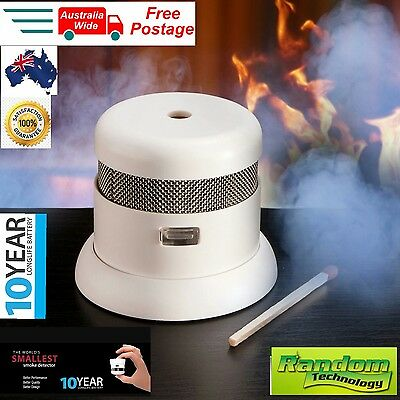 Cavius Photoelectric Smoke Alarm Detector - Worlds Smallest - 10 Year Battery