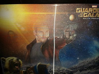 Rare Guardians of the Galaxy Lenticular Mouse Pad/Mat New & Sealed