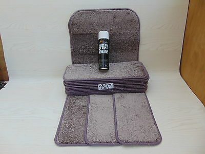 Stair pads / treads 14 off and 1 Big Mats with a FREE  can of SPRAY GLUE 982-5