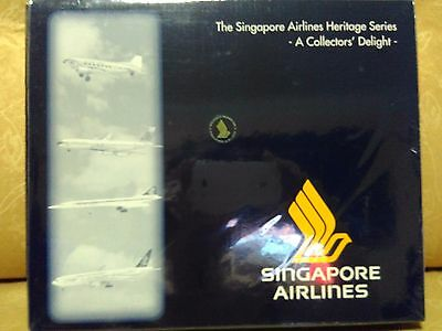 Herpa 1/500 LIMITED EDITION 'The Singapore Airlines Heritage Series 1' EX RARE