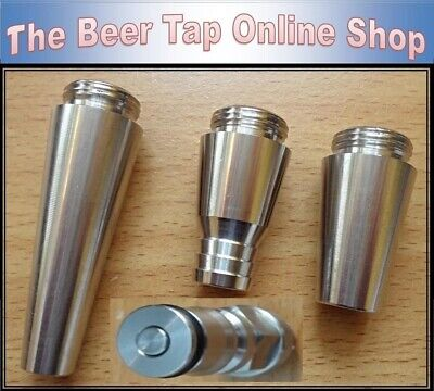 Intertap Stout Spout, Growler Filler, Standard Stainless Steel Beer Tap Spout.