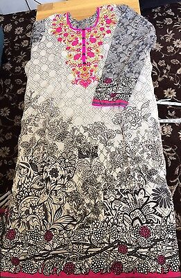 Asian Ladies Salwar/shalwar Kameez Size Xl/20