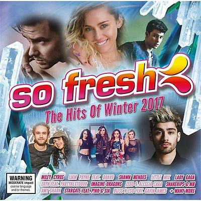 So Fresh The Hits Of Winter 2017 Various Artists Cd New
