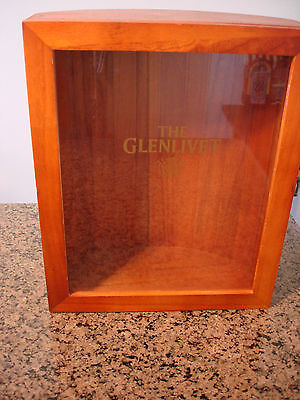 Glenlivet Empty Store Display Wooden Box (BOX ONLY)