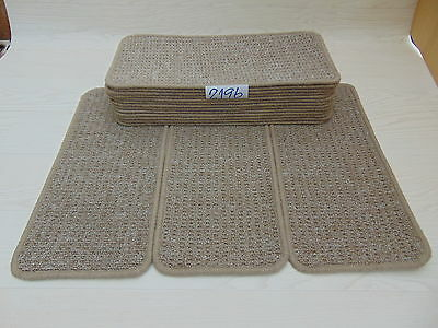 Carpet Stair pads / treads 50 cm x 23 cm 16 off   2196-2