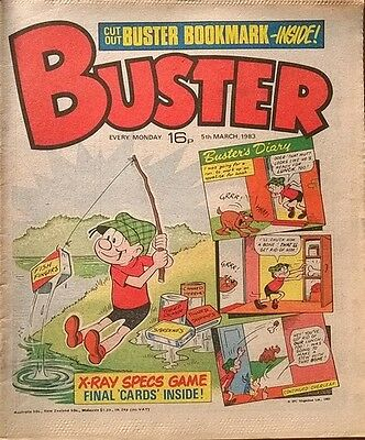 Buster Comic - 5th March 1983 - Birthday Present