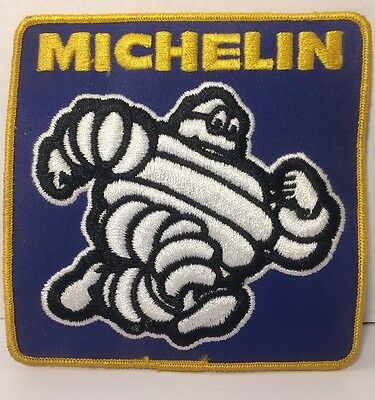 """Vintage Large Michelin Tire Man Running Patch 5.5"""""""