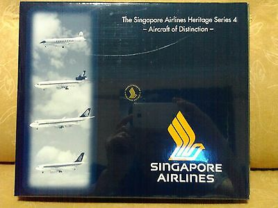 1/500 Herpa LIMITED EDITION' The Singapore Airlines Heritage Series 4' EX RARE
