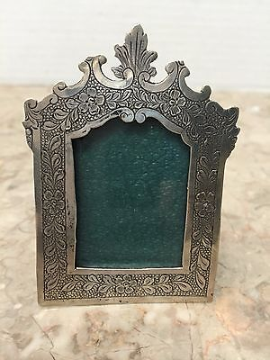 Special Find! 1972 R M Trush Sterling Silver Miniature Picture Frame & Ornament