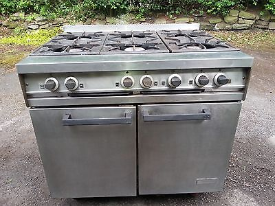 Falcon Dominator 6 burner catering cooker with oven. ideal for restaurant / cafe