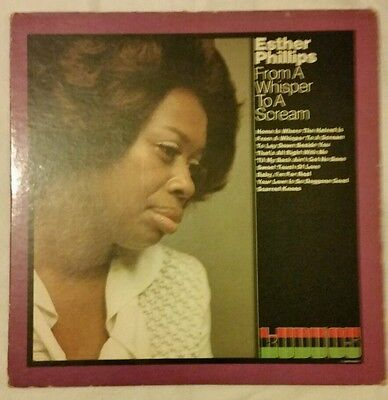 Esther Phillips  - From a Whisper to a Scream . Original USA 1971. VG++/VG