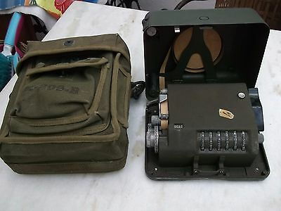 """Ww2 Us Army M-209""""b"""" 1944 Cipher Machine Complete Rare Model 5Th Army Not Enigma"""