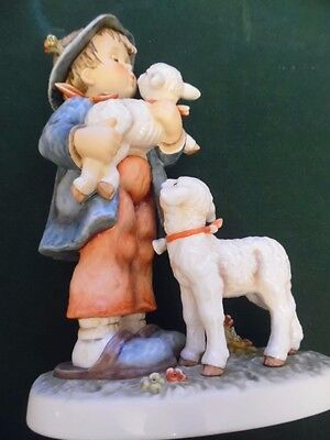 large Hummel / goebel  limited edition figure group shepherd boy,