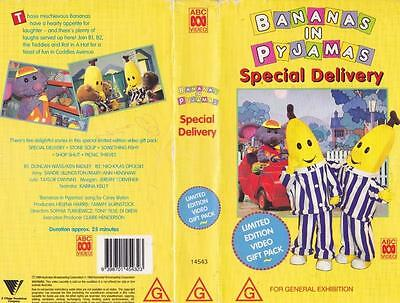 Bananas In Pyjamas Special Delivery   Vhs Video Pal~ A Rare Find
