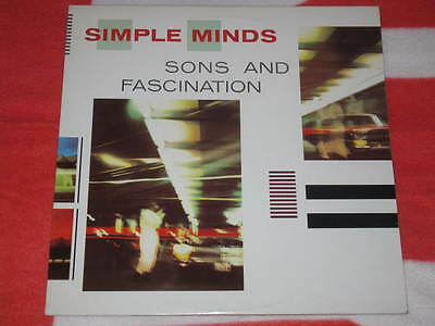 SIMPLE MINDS - Sons and fascination Canada press different including 10 tracks