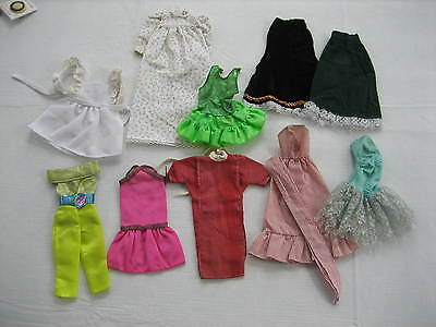 Mixed Lot Of 10 Vintage Barbie Doll Clothes - LotA