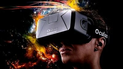 Oculus Rift (DK2) - VR Virtual Reality Headset New And Sealed (8/11)