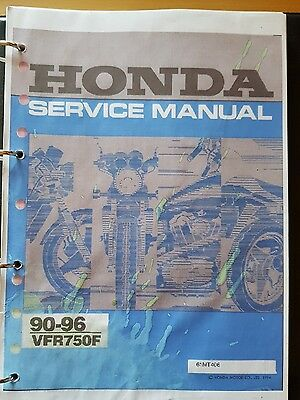 Honda VFR750F 1990 to 1996 Manual