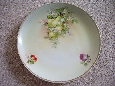 Antique KPM Dresden German porcelain plate-dish