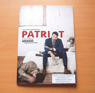 PATRIOT Official Presskit & 2 DVD's Steve Conrad Kurtwood Smith Michael Dorman