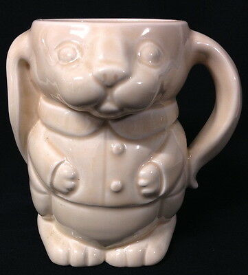 ♡ Stunning Wade China Smart Dressed Rabbit Drinking Mug Floppy Ears