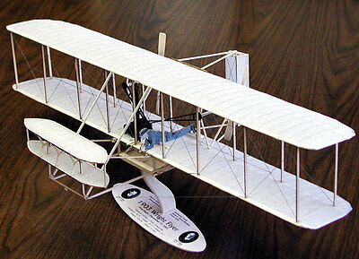"Wright Flyer 3/4"" scale kit Bausatz 1:20  Krick 005-gu1202"