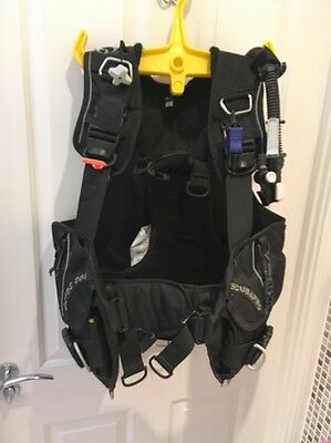 Scubapro Glide 2000 BCD - Medium - Diving - With Integrated Weight System