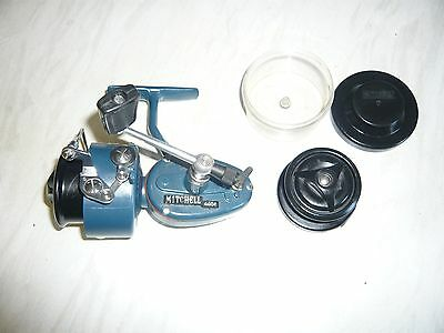 Vintage - 1982 Mitchell 440A Match - Blue - Auto Bail Reel & Spare Match Spool