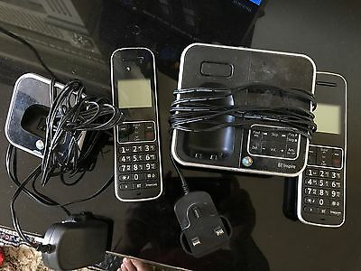 BT Inspire 150 twin phone set with answering machine