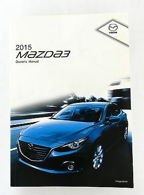 Attractive 2015 Mazda 3 Owners Manual Parts Service New Original Car Automobile