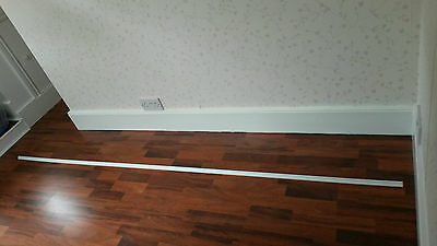 Screwfix White Scotia MDF Beading Edging Moulding. 10 x 2.4m lengths in tube.