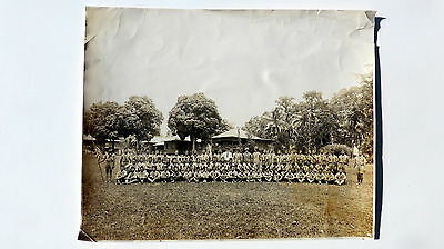 Old Photo Collection, Military Family at Fort San Pedro, Philippines, C. 1920's