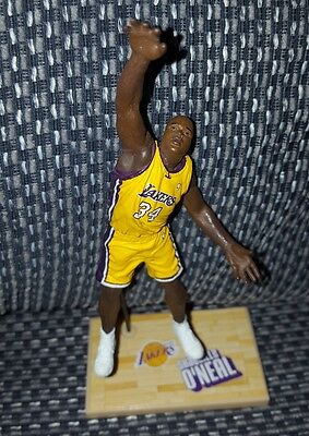 2003 McFarlane NBA Shaquille O'Neal Los Angeles Lakers Figure with Stand