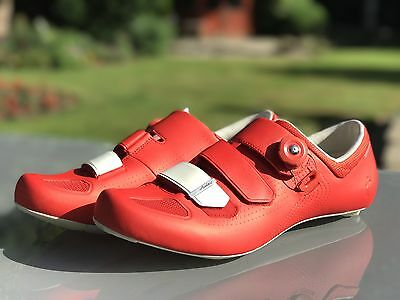 Specialized Audax Road Cycling Shoes Size UK12 EUR 47 Red/White