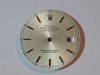 Genuine Rolex Oyster Perpetual Datejust watch face 28mm Superlative Chrono 2 447