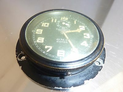 Vintage Boselli O.m.t. Roma Wwii Military Aircraft Clock