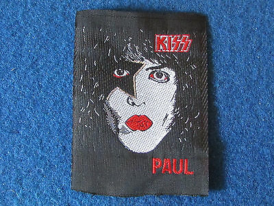 Sew on Patch - KISS - Paul - Paul Stanley