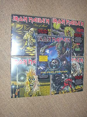 Iron Maiden Picture The Final Frontier Killers Number Of The Beast Piece Of Mind